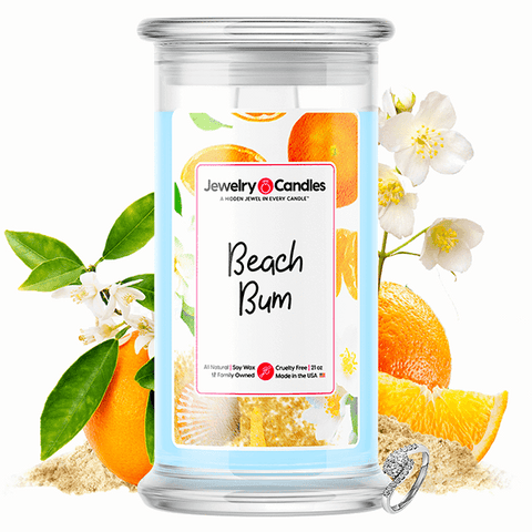 Beach Bum Jewelry Candle - BathBombs.Com