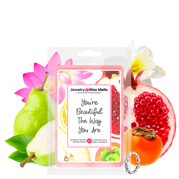 You're Beautiful The Way You Are Jewelry Wax Melt - BathBombs.Com