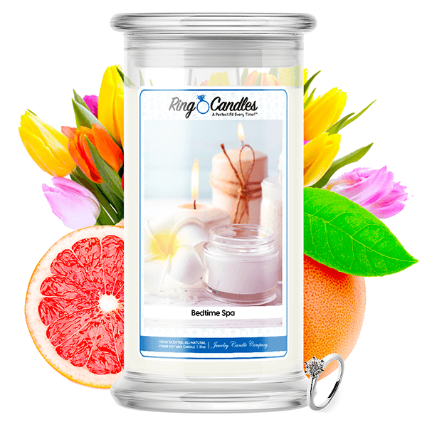 Bedtime Spa Ring Candle - BathBombs.Com