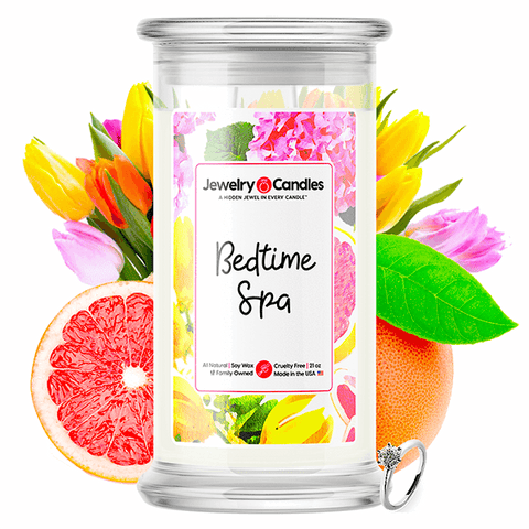 Bedtime Spa Jewelry Candle - BathBombs.Com
