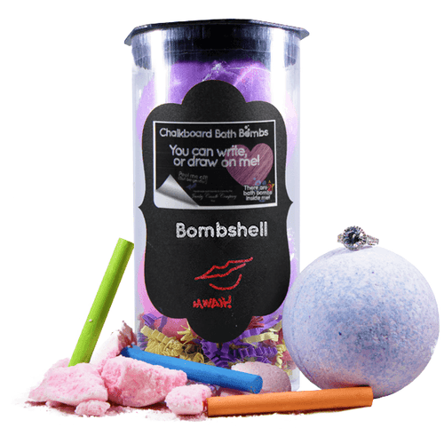 Bombshell | Jewelry Chalkboard Bath Bombs - BathBombs.Com