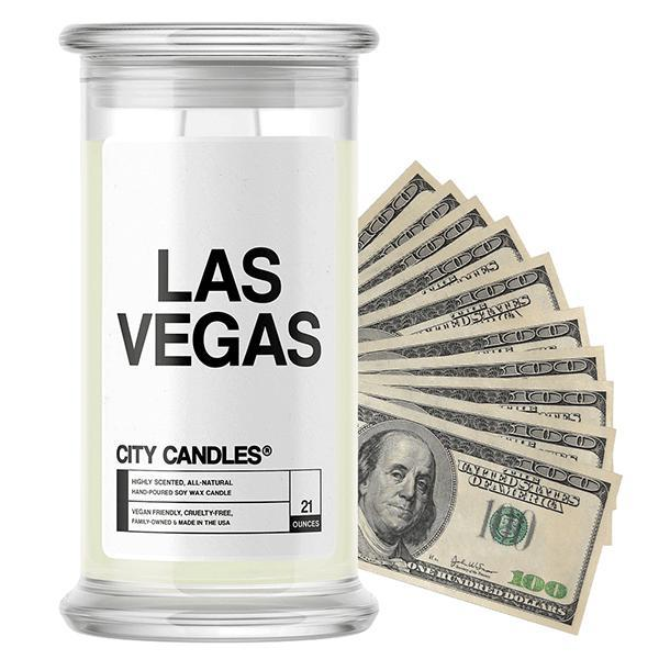 Las Vegas City Cash Candle - BathBombs.Com
