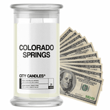 Colorado Springs City Cash Candle - BathBombs.Com