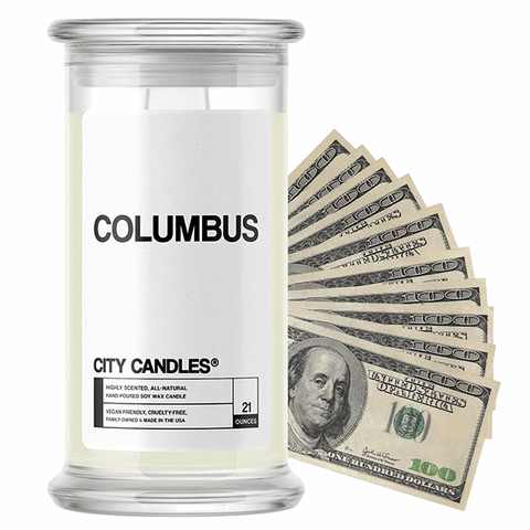 Columbus City Cash Candle - BathBombs.Com