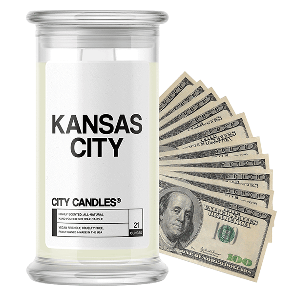 Kansas City City Cash Candle - BathBombs.Com