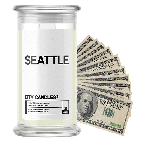 Seattle City Cash Candle - BathBombs.Com