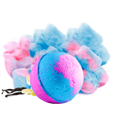 Cotton Candy Dandy Toy Surprise Bath Bomb - BathBombs.Com