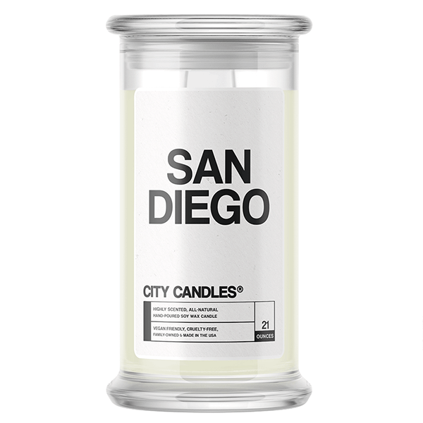 San Diego City Candle - BathBombs.Com