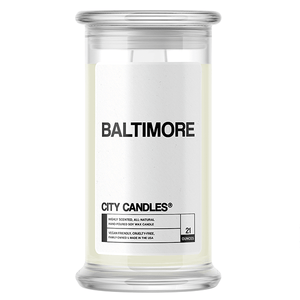 Baltimore City Candle - BathBombs.Com