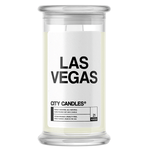 Las Vegas City Candle