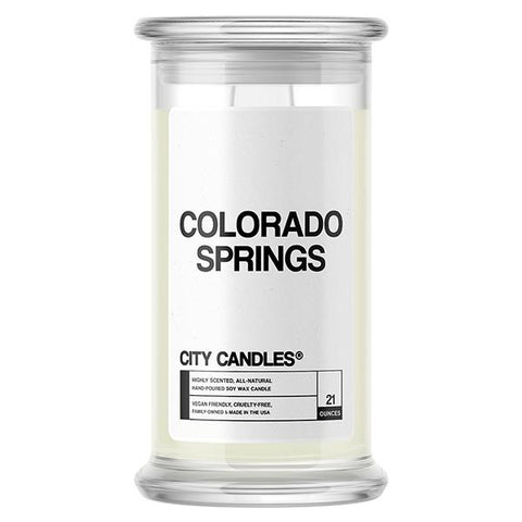 Colorado Springs City Candle - BathBombs.Com