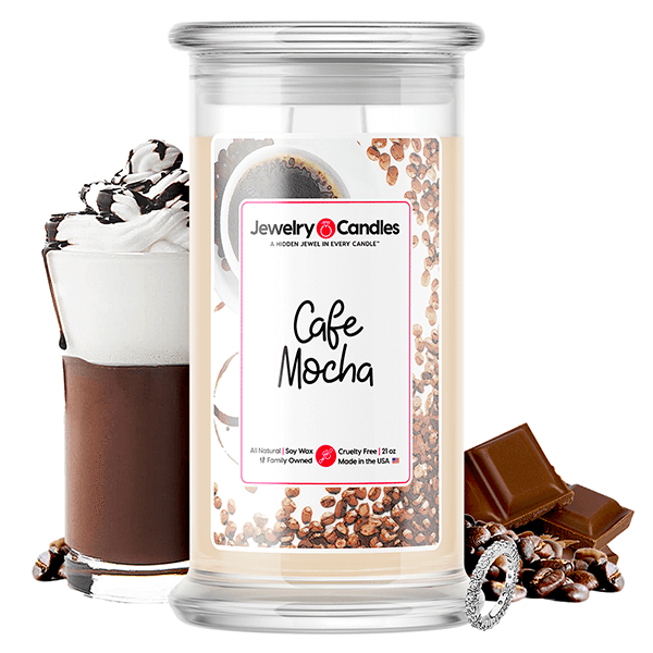 Café Mocha Jewelry Candle - BathBombs.Com