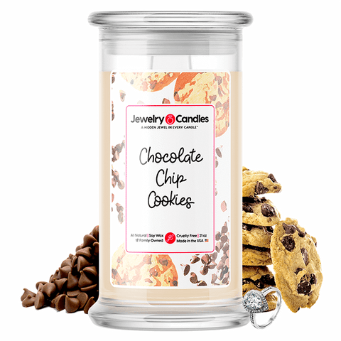 Chocolate Chip Cookies Jewelry Candle - BathBombs.Com