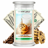 Chocolate Chip Cookies Cash Money Candle - BathBombs.Com