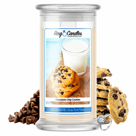 Chocolate Chip Cookies Ring Candle - BathBombs.Com