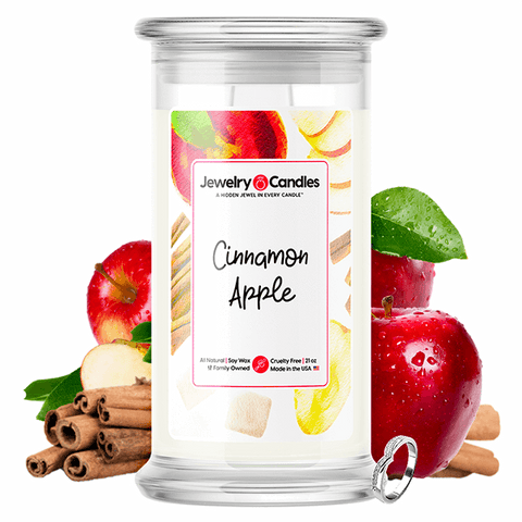 Cinnamon Apple Jewelry Candle - BathBombs.Com
