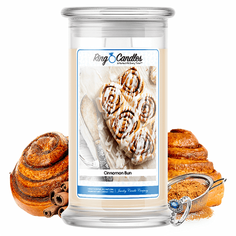 Cinnamon Bun Ring Candle - BathBombs.Com