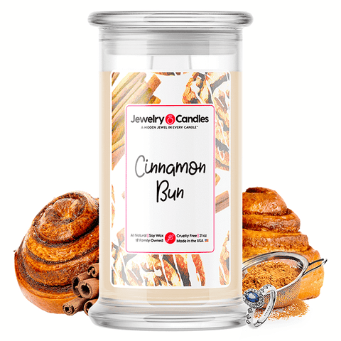 Cinnamon Bun Jewelry Candle - BathBombs.Com