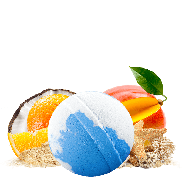 Coco Cabana Dollar Bath Bomb - BathBombs.Com