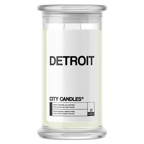 Detroit City Candle - BathBombs.Com