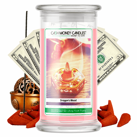 Dragon's Blood Cash Money Candle - BathBombs.Com