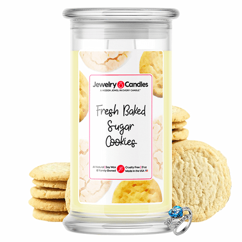 Fresh Baked Sugar Cookies Jewelry Candle - BathBombs.Com