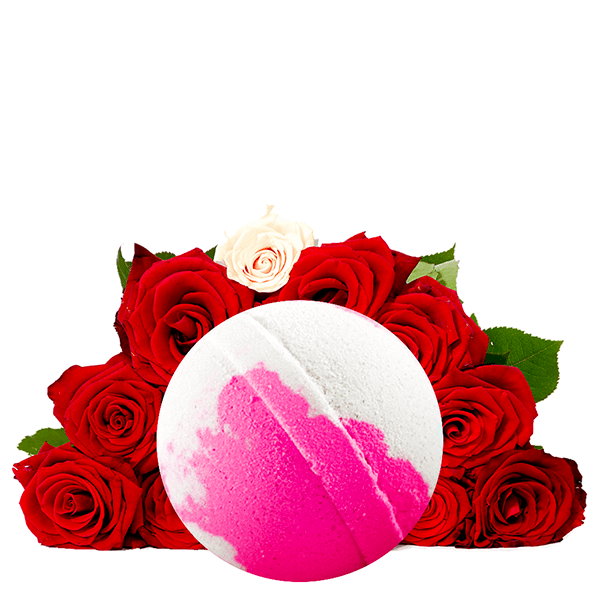 Fresh Cut Roses Dollar Bath Bomb - BathBombs.Com