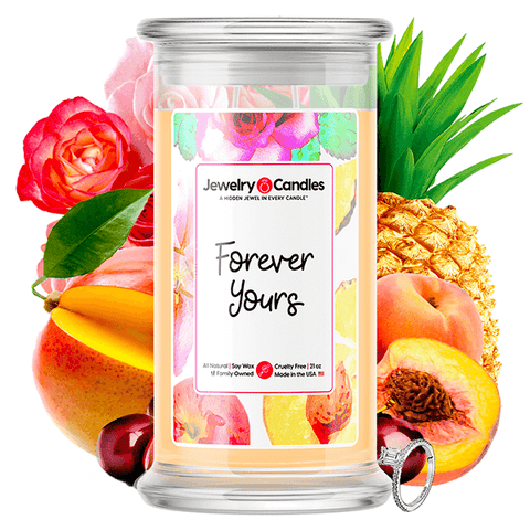 Forever Yours Jewelry Candle - BathBombs.Com
