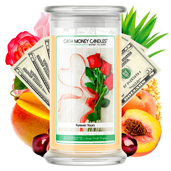 Forever Yours Cash Money Candle - BathBombs.Com