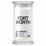Fort Worth City Candle