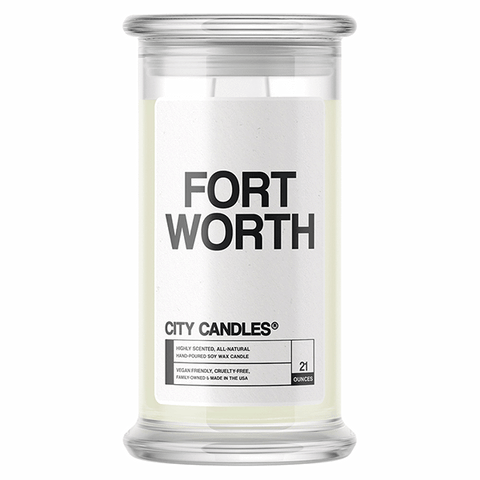 Fort Worth City Candle - BathBombs.Com