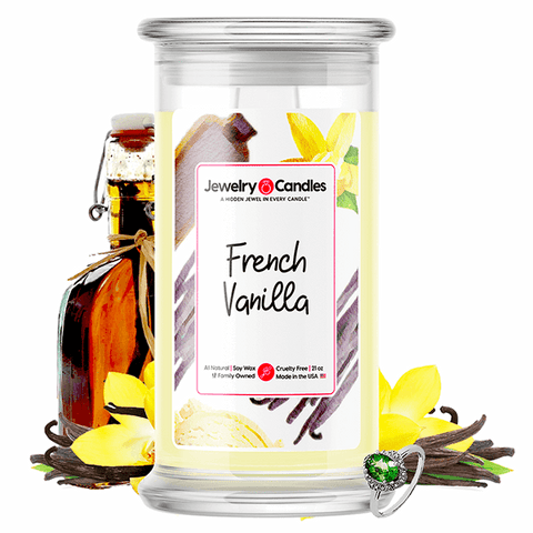 French Vanilla Jewelry Candle
