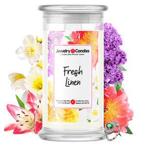 Fresh Linen Jewelry Candle - BathBombs.Com