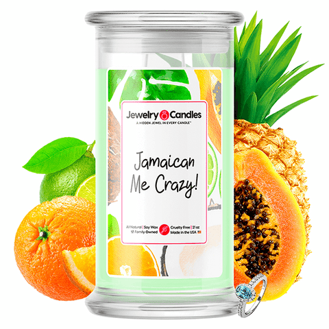 Jamaican Me Crazy! Jewelry Candle - BathBombs.Com