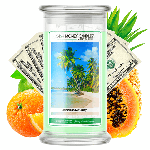 Jamaican Me Crazy! Cash Money Candle