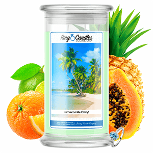 Jamaican Me Crazy! Ring Candle - BathBombs.Com