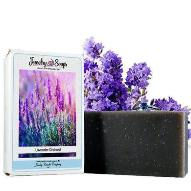 Lavender Orchard Jewelry Soap (Comes with Jewel!)-Jewelry Soaps-The Official Website of Jewelry Candles - Find Jewelry In Candles!