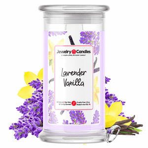 Lavender Vanilla Jewelry Candle - BathBombs.Com