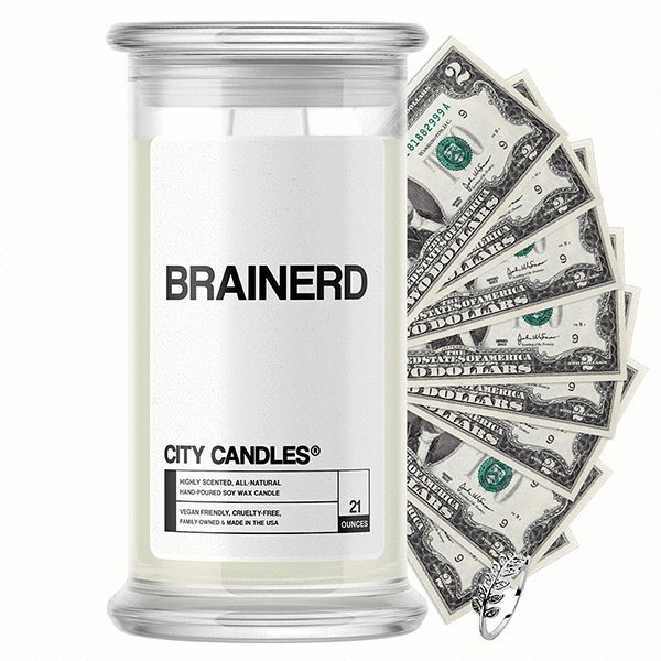 Brainerd City Cash Candle - BathBombs.Com
