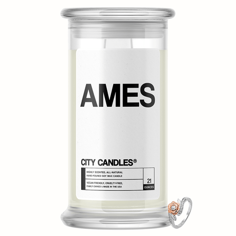 Ames City Jewelry Candle - BathBombs.Com