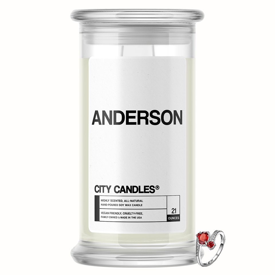 Anderson City Jewelry Candle - BathBombs.Com
