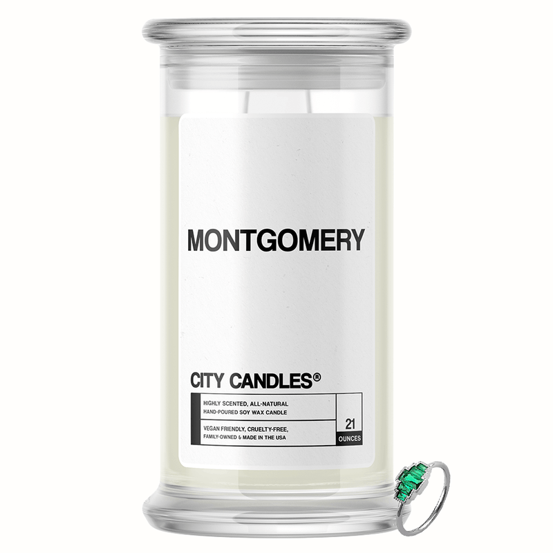 Montgomery City Jewelry Candle - BathBombs.Com