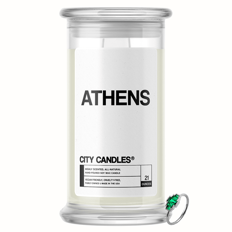 Athens City Jewelry Candle - BathBombs.Com