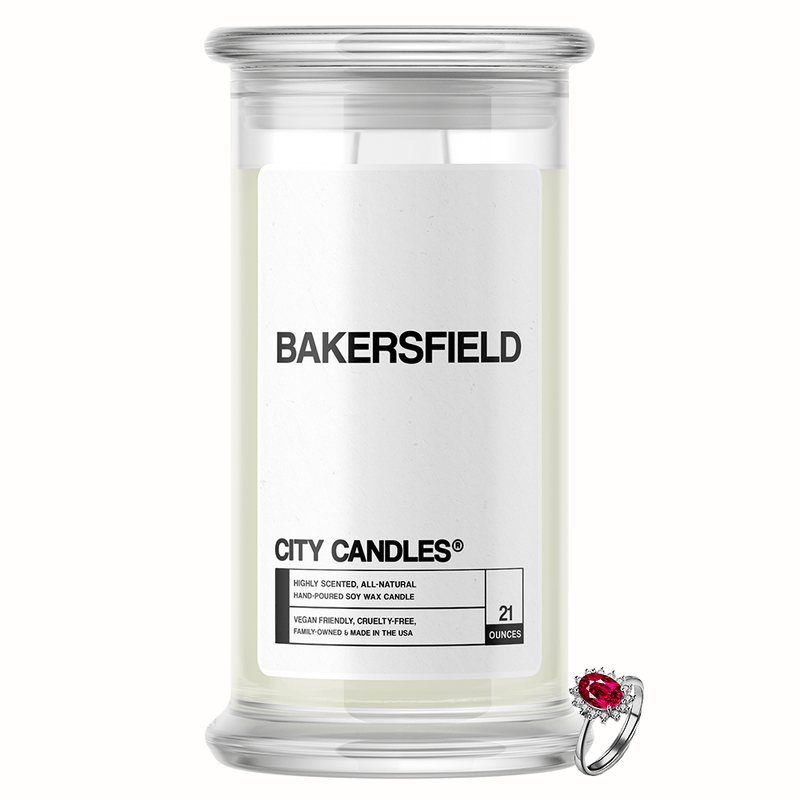 Bakersfield City Jewelry Candle - BathBombs.Com