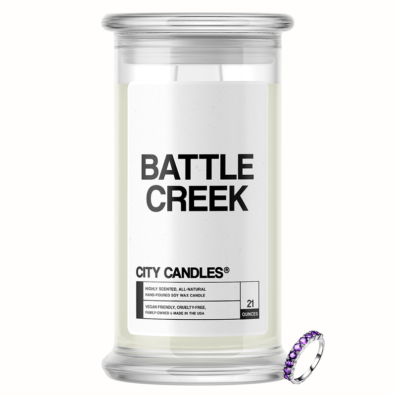 Battle Creek City Jewelry Candle - BathBombs.Com