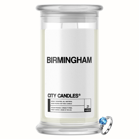 Birmingham City Jewelry Candle - BathBombs.Com