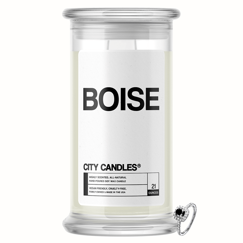 Boise City Jewelry Candle - BathBombs.Com