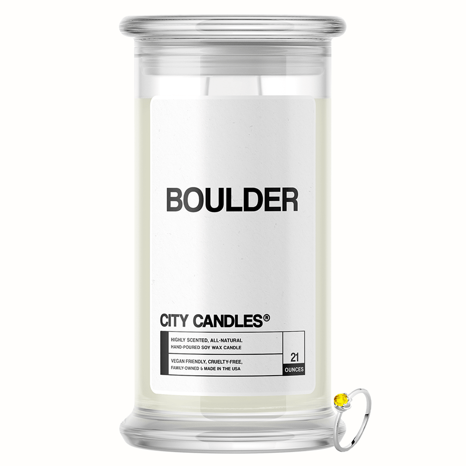 Boulder City Jewelry Candle - BathBombs.Com