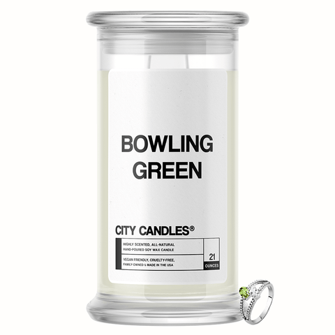 Bowling Green City Jewelry Candle - BathBombs.Com