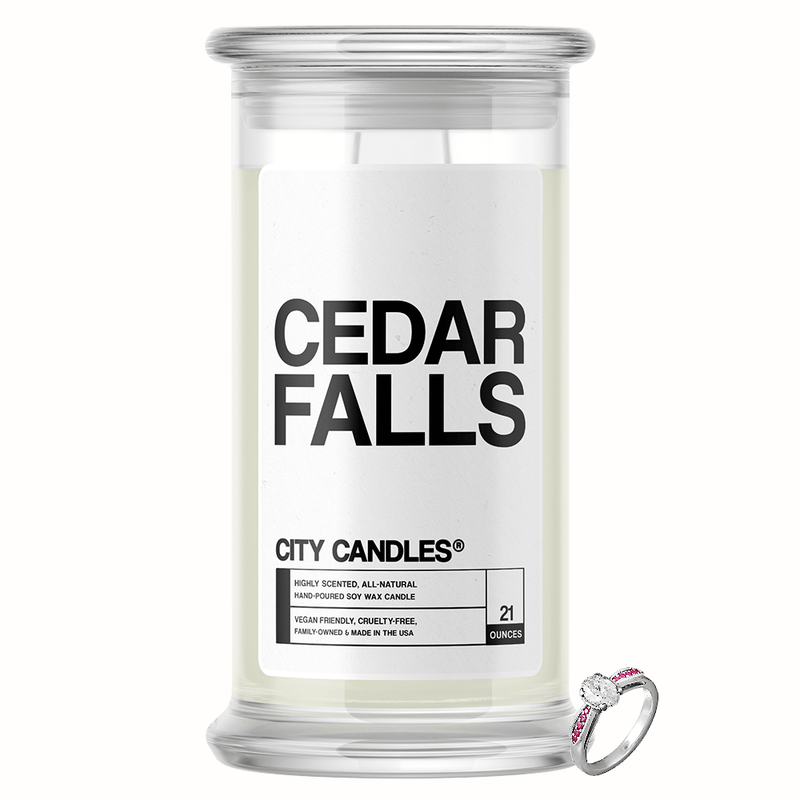 Cedar Falls City Jewelry Candle - BathBombs.Com